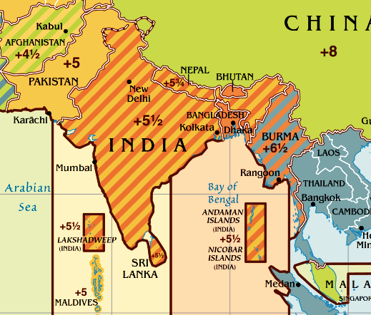 world map time zones india choice image